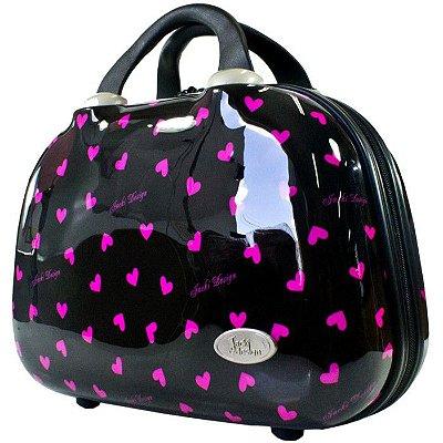 Frasqueira de Viagem Jacki Design Valentine JDH22787 Preta