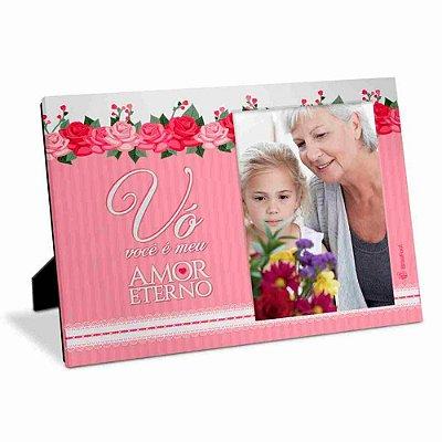 Porta Retrato Mãe Vovó Amor Eterno 10x15