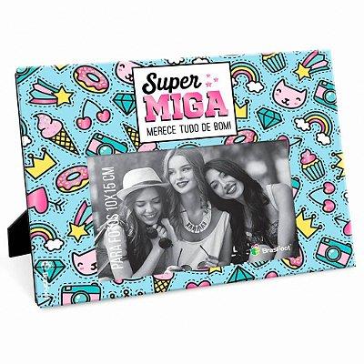 Porta Retrato Amiga Super Miga 10x15
