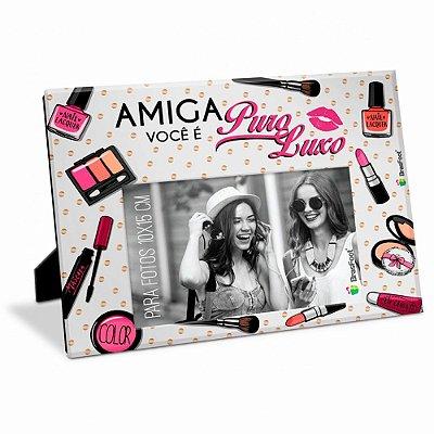 Porta Retrato Amiga Puro Luxo 10x15