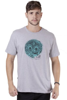 """Camiseta Manga Curta Com Estampa Na Frente """"Coleção Indonésia"""""""