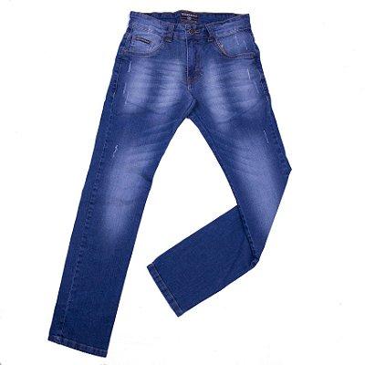 Calça Jeans Infanto Com Bordado - INFANTIL
