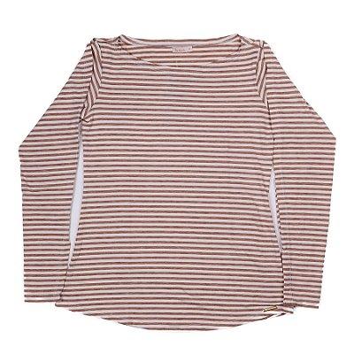 Blusa Feminina Com Estampa Listrada