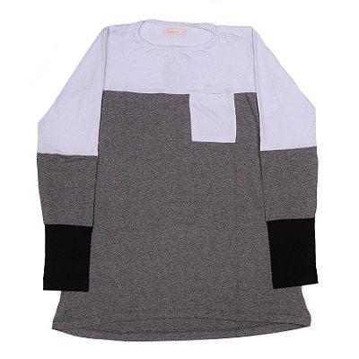 Blusa Feminina Com Combinações De Cores