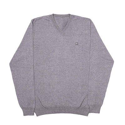 Blusa De Lã - Gola V