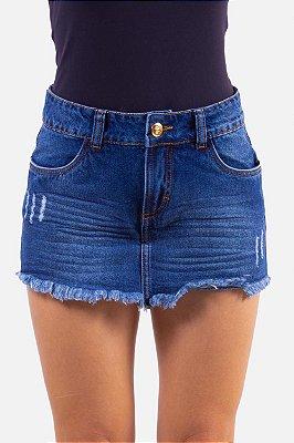 Shorts Saia Vida Marinha Jeans