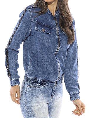 Jaqueta Jeans Vida Marinha