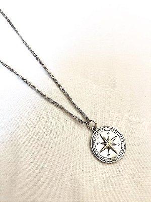 Colar Estrela guia prata
