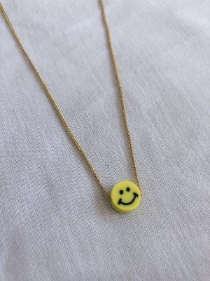 Colar smile yellow