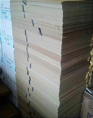 Cartão Paraná Tipo Holler A3 1.6 mm Placa Cinza para Artesanato 50 folhas