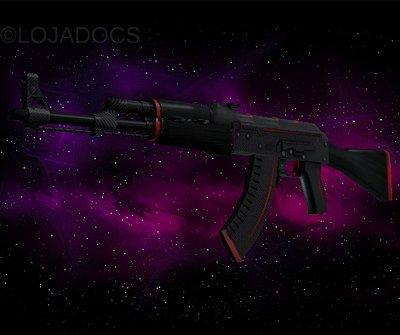 AK-47 | RedLine (Field Tested) (4 ADESIVOS HOLO FAZE) *LINDA*