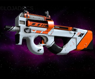 P90 | Asiimov (Field Tested)