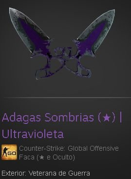 Shadow Daggers (★) | Ultraviolet (Battle Scarred)