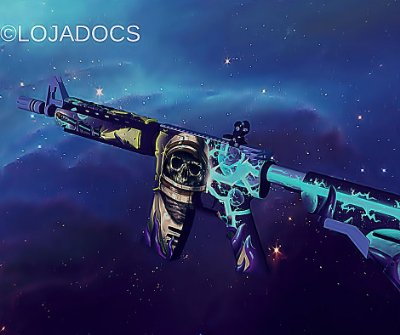 M4A4 - Desolate Space (Field-Tested)