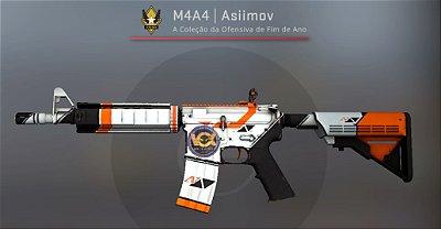 M4A4   Asiimov [Testado Em Campo] Adesivo Vox Eminor