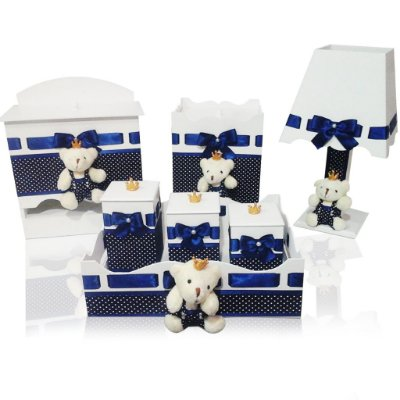 Kit higiene Ursinho Real 7 Peças
