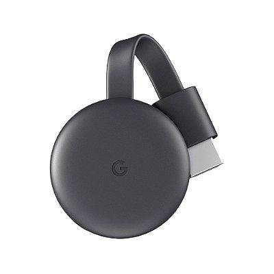 Google Chromecast 3 HDMI Full HD Resolução 1080p