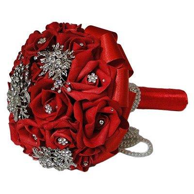 Bouquet de Broches - Vermelho