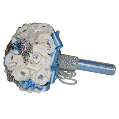 Bouquet de Broches - Azul