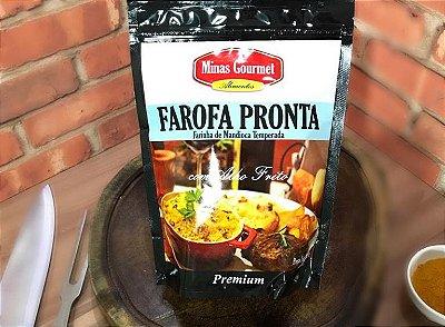 Farofa Gourmet com Alho Frito