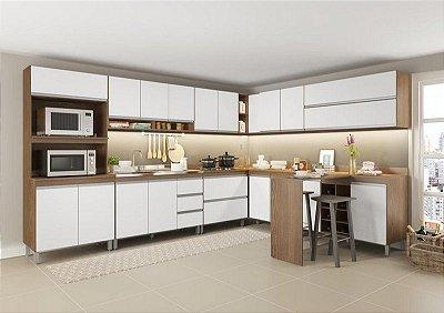 Cozinha modulada Sabrina 11 peças Soluzione