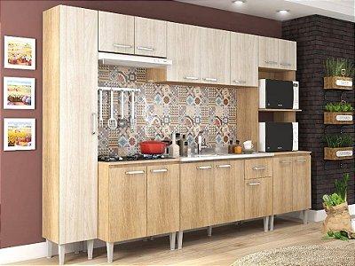 Cozinha modulada 6 peças 14 portas Max - Fellicci