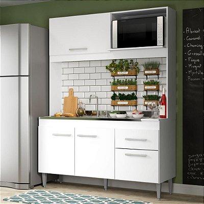 Cozinha compacta  Branca Sara - Soluzione