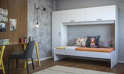 Guarda-roupa com cama  Multi móveis