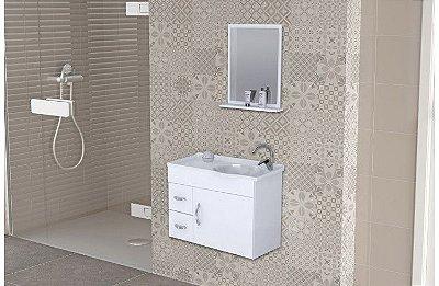 Gabinete de banheiro 60cm - AJ RORATO