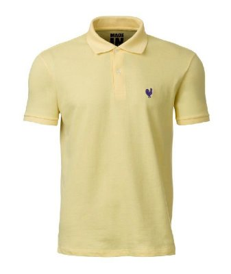 2894f92a8ba5c Camiseta Polo Masculina Made In Mato Amarela