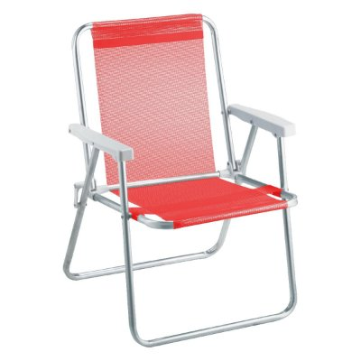 Beach Premium Alumínio Vermelho