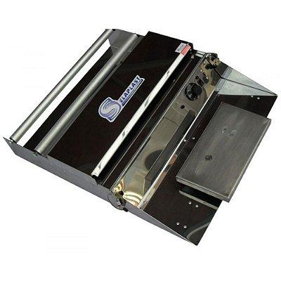 Embaladora Porta Película 50cm Inox - Embalaplast