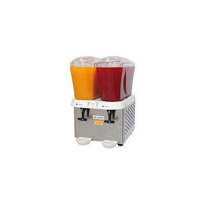Refresqueira Inox 2 Depósitos De 16l, Para Sucos - 220v