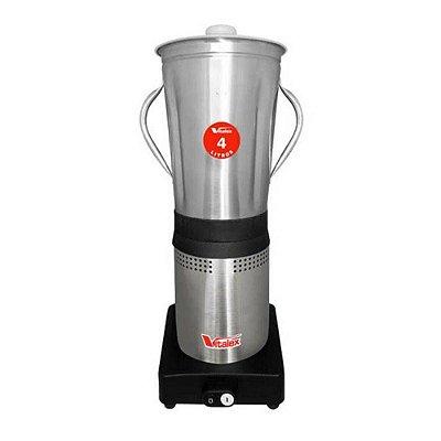 Liquidificador Industrial Inox 4L Luxo - 220v