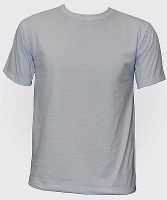 Camiseta Gola Careca PV Manga Curta Branca - Unissex