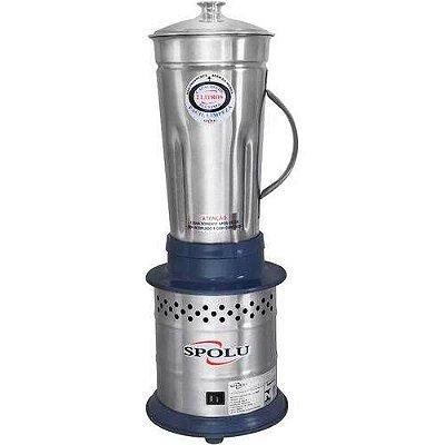Liquidificador 2L Alta Rotação Cinza - 220v