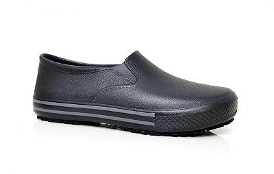 Sapato de Segurança (Tênis Works) Antiderrapante - Preto (BB80)