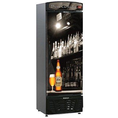 Resfriador de Bebidas (Cervejeira) GRBA-450 B - Adesivo Bar 220v