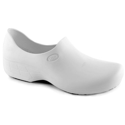 Sapato de Segurança Sticky Shoes Branco Feminino (Com Salto)