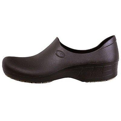Sapato de Segurança Sticky Shoes Preto Feminino (Com Salto)