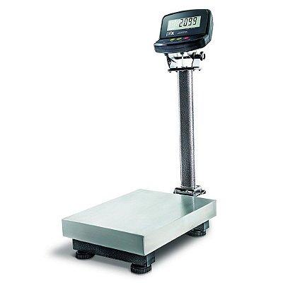 Balança Inox 2099 - 300kg x 50g  PLN+CN Módulo TI 200