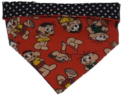 Bandanas Dupla Face Estampas Personagens