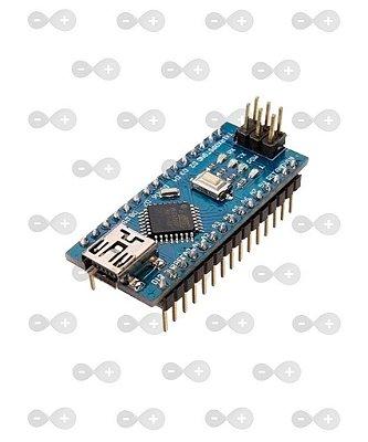 ARDUINO NANO V3.0 PINOS SOLDADOS + CABO USB