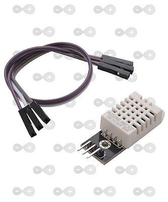 Módulo Dht22 Am2302 Sensor De Umidade E Temperatura