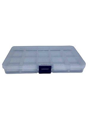 Caixa Plástica 15 Divisórias 17x10x2CM