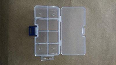 Caixa Plástica 8 Divisórias 13.7*6.8*2.8CM