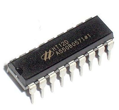 CI HT12D Decoder RF433MHz Para Arduino
