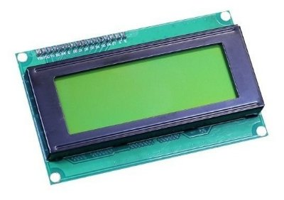 DISPLAY LCD 20X4 C/ BLACKLIGHT VERDE