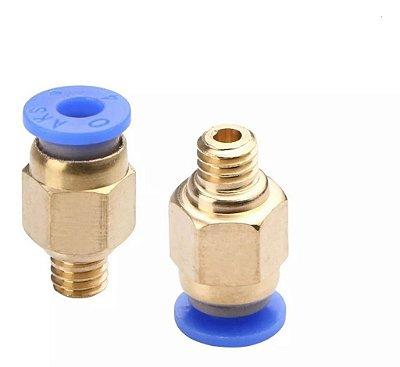 Engate Rápido Pc4-m6 Bowden Para Tubo De 4mm, 3d, Pneumático