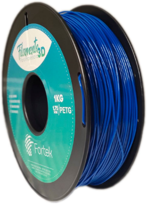 Filamento Pet-g 1,75 Mm 1kg - Azul (Blue)